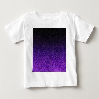 Falln Purple & Black Glitter Gradient Baby T-Shirt