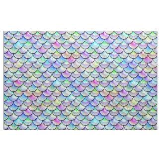 Falln Rainbow Bubble Mermaid Scales Fabric