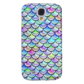 Falln Rainbow Bubble Mermaid Scales Galaxy S4 Cover