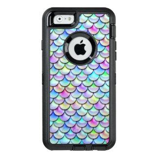 Falln Rainbow Bubble Mermaid Scales OtterBox iPhone 6/6s Case