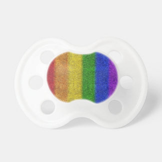 Falln Rainbow Glitter Gradient Pacifier