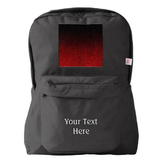 Falln Red & Black Glitter Gradient Backpack
