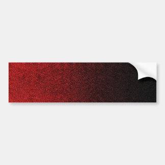Falln Red & Black Glitter Gradient Bumper Sticker
