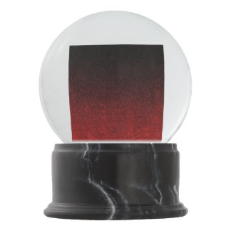Falln Red & Black Glitter Gradient Snow Globes