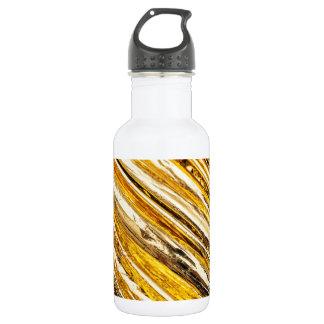 Falln Shimmering Gold Foil 532 Ml Water Bottle