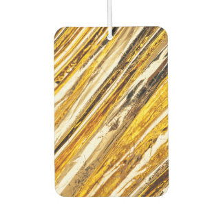 Falln Shimmering Gold Foil Car Air Freshener