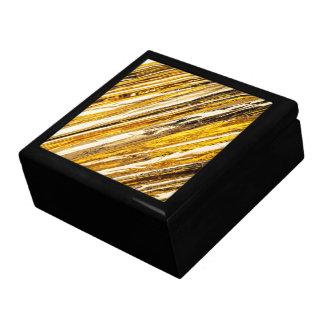 Falln Shimmering Gold Foil Large Square Gift Box