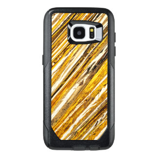 Falln Shimmering Gold Foil OtterBox Samsung Galaxy S7 Edge Case