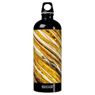 Falln Shimmering Gold Foil Water Bottle
