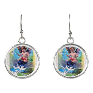 Falln Spring Time Fairy Earrings