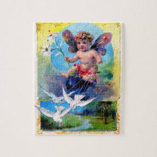 Falln Spring Time Fairy Jigsaw Puzzle