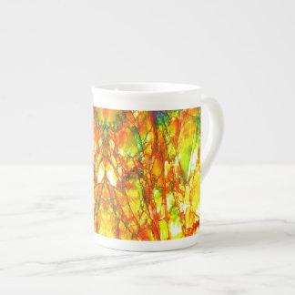 Falln Sunset Ammolite Tea Cup