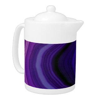 Falln Swirled Purple Geode