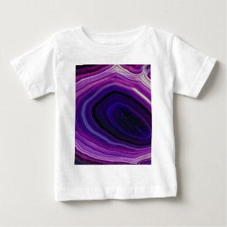Falln Swirled Purple Geode Baby T-Shirt