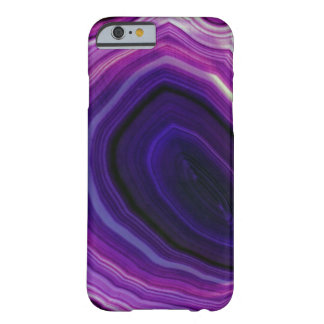 Falln Swirled Purple Geode Barely There iPhone 6 Case