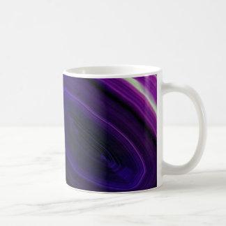 Falln Swirled Purple Geode Coffee Mug