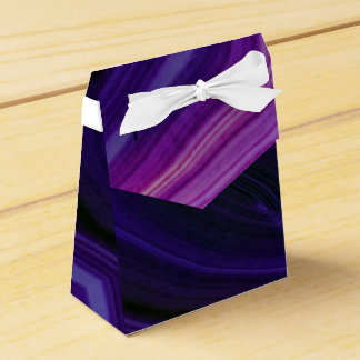 Falln Swirled Purple Geode Favour Box