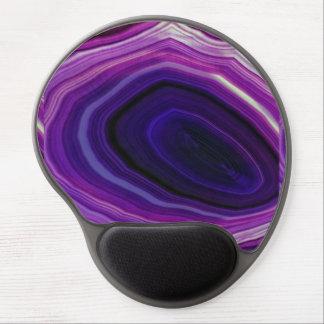 Falln Swirled Purple Geode Gel Mouse Pad