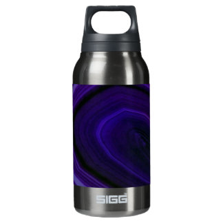 Falln Swirled Purple Geode Insulated Water Bottle