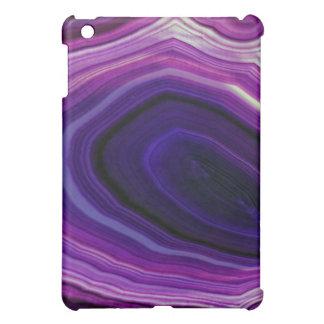 Falln Swirled Purple Geode iPad Mini Case
