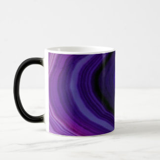 Falln Swirled Purple Geode Magic Mug