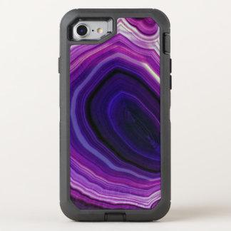 Falln Swirled Purple Geode OtterBox Defender iPhone 8/7 Case