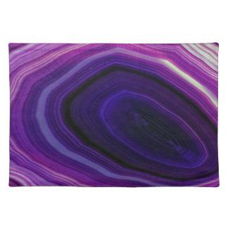 Falln Swirled Purple Geode Placemat