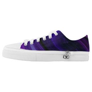 Falln Swirled Purple Geode Printed Shoes