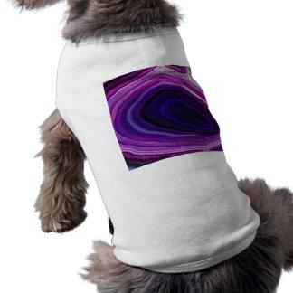 Falln Swirled Purple Geode Shirt