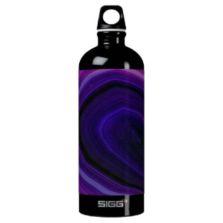 Falln Swirled Purple Geode SIGG Traveller 1.0L Water Bottle