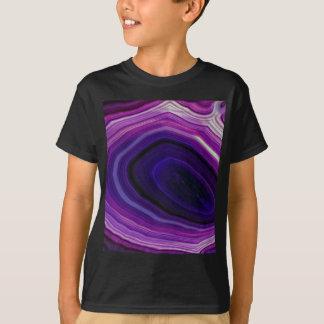 Falln Swirled Purple Geode T-Shirt