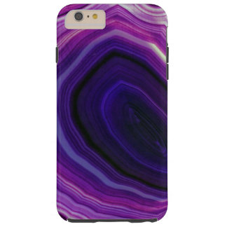Falln Swirled Purple Geode Tough iPhone 6 Plus Case