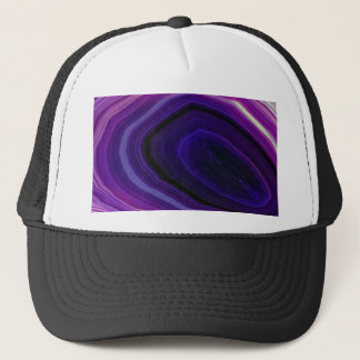 Falln Swirled Purple Geode Trucker Hat