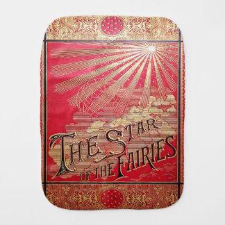 Falln The Star of the Fairies Book Cover Burp Cloth
