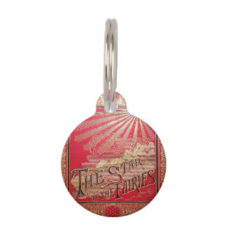 Falln The Star of the Fairies Book Cover Pet ID Tag