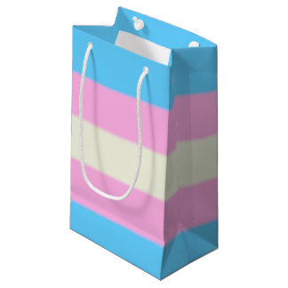 Falln Transgender Pride Flag Small Gift Bag