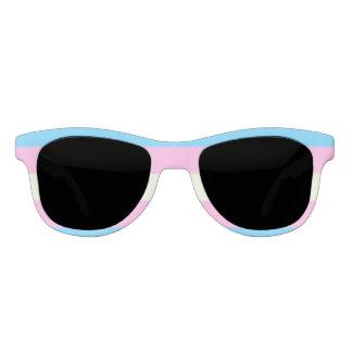Falln Transgender Pride Flag Sunglasses