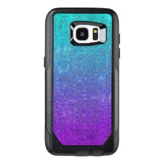 Falln Tropical Dusk Glitter Gradient OtterBox Samsung Galaxy S7 Edge Case