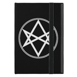 Falln Unicursal Hexagram White iPad Mini Case