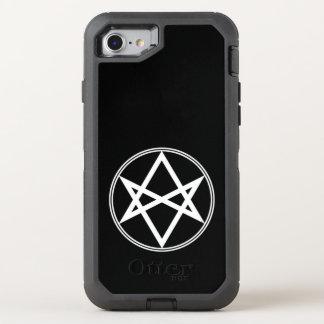 Falln Unicursal Hexagram White OtterBox Defender iPhone 8/7 Case