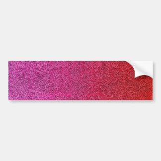 Falln Valentine Glitter Gradient Bumper Sticker