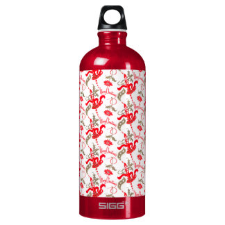 Falln Vintage Merry Christmas Candles Water Bottle