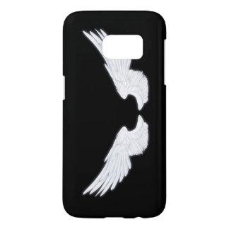 Falln White Angel Wings