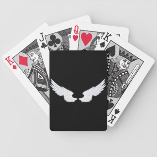 Falln White Angel Wings Bicycle Playing Cards
