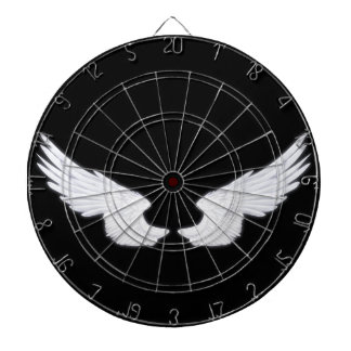 Falln White Angel Wings Dartboard
