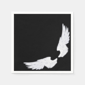 Falln White Angel Wings Disposable Napkin