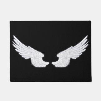 Falln White Angel Wings Doormat