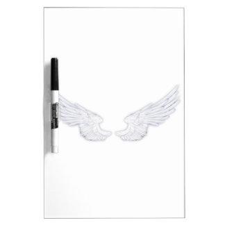 Falln White Angel Wings Dry Erase Board
