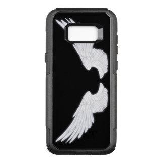 Falln White Angel Wings OtterBox Commuter Samsung Galaxy S8+ Case