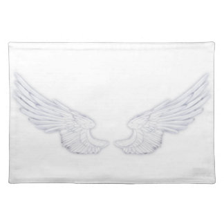 Falln White Angel Wings Placemat